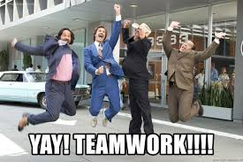 Teamwork Memes - yay teamwork anchorman news team meme generator