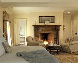 Bedroom Wall Of Windows Wonderful Master Bedroom Fireplace In House Decorating Inspiration
