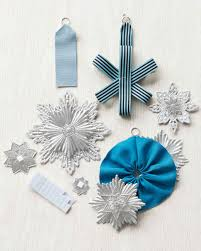 simple ribbon ornament martha stewart