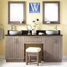 Sears Bathroom Furniture Bathroom Furniture Teak Oak And Mahogany Bathroom Vanities