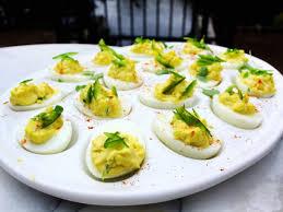 g garvin s deviled eggs recipe g garvin cooking channel