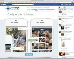 create facebook fan page gigaom turn your facebook fan page into a mobile web app
