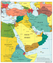 Map Of Israel And Syria by Map Of The Middle East Bible Atlas Online