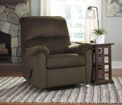 bronwyn cocoa swivel glider recliner 2600161 ashley
