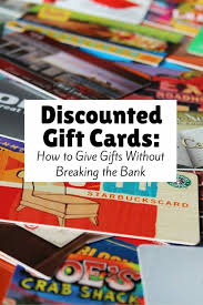 discounted gift cards how discounted gift cards can help save your budget the budget diet