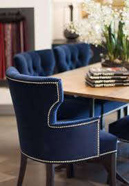 blue dining room furniture dive into the deep blues regal royal pinterest crushed