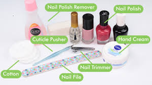how to do a manicure at home with pictures wikihow