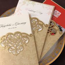 wholesale wedding invitations aliexpress buy wishmade gold cover wedding invitation cards