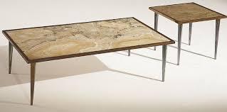 stone international brown onyx rectangular coffeetable 3152
