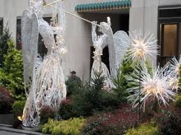 Outdoor Christmas Decor Angels by Christmas Angel Decorations For Outside Angelic Outdoor