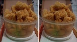 membuat nugget ayam pakai tepung terigu resep nugget ayam ini cukup dada ayam 1 belah bisa jadi 1 kg lho bun