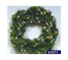 lighted automobile wreath qvc