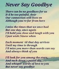 Lost Love Meme - goodbye funeral poems