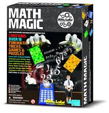 amazon com 4m kidz labs math magic toys u0026 games