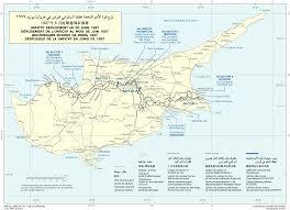 Map Of Cyprus Unficyp
