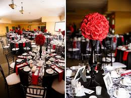 remarkable black red and white wedding decorations 64 in wedding