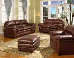 Brown Leather Sofa Sets Burgundy Leather Sofa For Sale Tehranmix Decoration