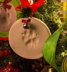 with the paw print ornament kit it only takes a few minutes to