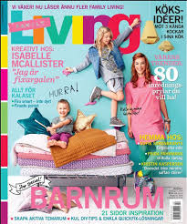 ON THE COVER OF FAMILY LIVING  Isabelle McAllister