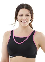 Without Walls Clothing by Glamorise Women U0027s No Bounce Full Support Sport Bra At Amazon