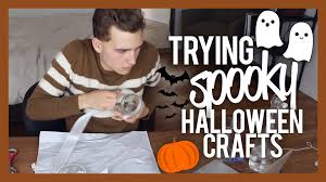 Spooky Halloween Crafts Trying Spooky Halloween Crafts Youtube
