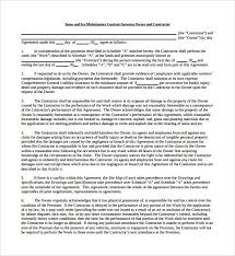 simple snow removal contract template best resumes curiculum
