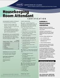Housekeeper Resume Sample by Resume For Housekeeping Room Attendant Samples Of Resumes