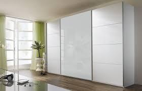 Schlafzimmerschrank Zerlegen Rauch Schwebetürenschrank 3 Türig Weiß Alpin Absetzung Weiß Glas