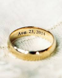 engravings for wedding rings 25 best wedding ring engraving ideas on wedding ring
