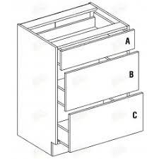 meuble bas cuisine 3 tiroirs meubles bas blanc laqué singiel luxe moins cher cuisine