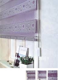 Home Decor Blinds by Home Decor Curtains For Windows Double Layer Shade Roller Blind
