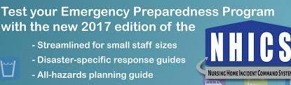 incident command table top exercises cahf disaster preparedness program