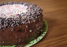 classic yellow birthday cake gluten dairy free