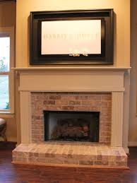 brick fireplace remodel how to decocurbs com amazing funny