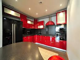 red black and white kitchen ideas artofdomaining com magnificent