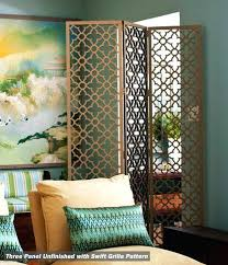 Moroccan Room Divider The Versatile Folding Screen Laser Cutting Divider And Bhg