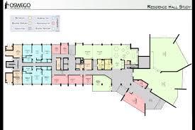 suny oswego residence hall master plan mach architecture