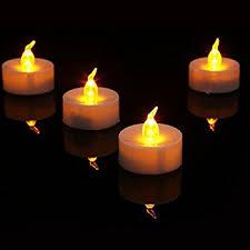 fake tea light candles amazon com tea lights flameless led tea lights candles 24 pack