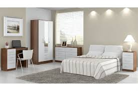 walnut and white bedroom furniture cream gloss and walnut bedroom furniture furniture home decor