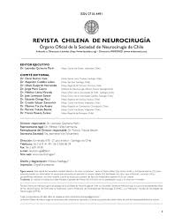 revista neurocirugía numero 29 by ipx ltda issuu