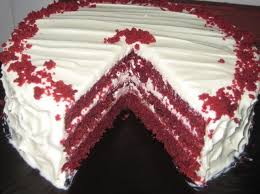 how to make a luscious red velvet cake with frosting recipe