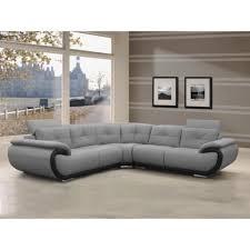 canapé d angle 6 places canapé d angle 6 places en cuir smiley bicolo achat vente