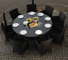 Black Glass Patio Table Glass Patio Dining Table With Black Chair Sets Deck