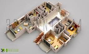 commercial office 3d floor plan floorplans sims house ideas