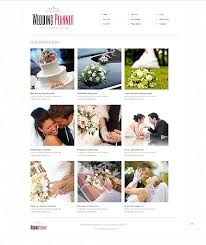 Wedding Planning Websites Website Template 40649 Wedding Planner Planning Custom Website