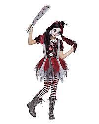 Clown Costumes Halloween Killer Clown Girls Costume Spirithalloween Halloween Ideas
