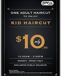which day senior citizen haircut at super cuts supercuts nex