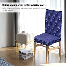 seat covers for wedding chairs 3d printing spandex stretchable dining chair seat covers sales