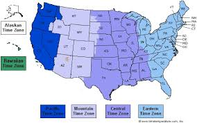 map of time zones in the usa printable time zone map of us maps united states map with time zones