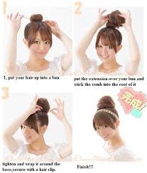 bun scrunchie medium brown pony hair extension scrunchie bun ebay